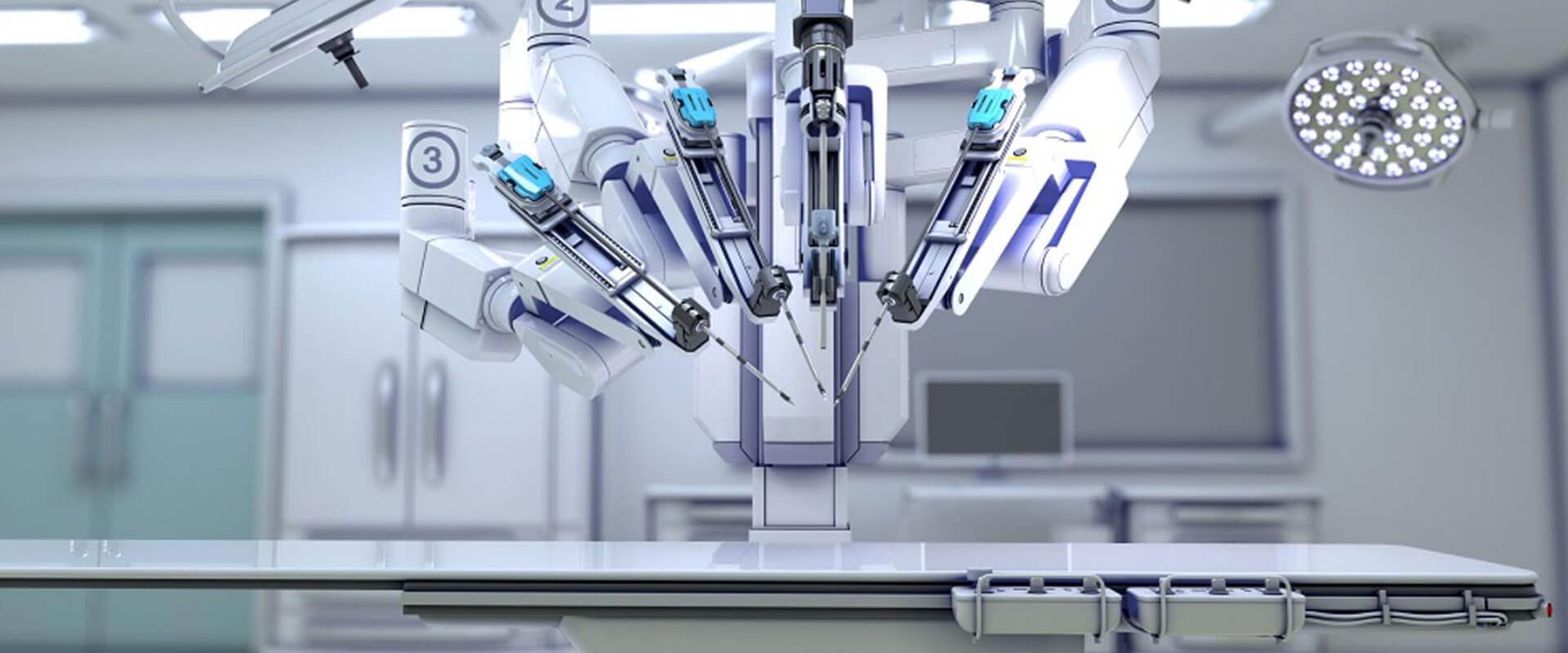 Cirurgia Robótica - Dr. Valter Alvarenga